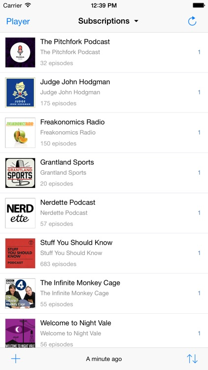 Jimcast - podcast client, manager, catcher. Integration with Podcasts, Instacast, Downcast, Pocket Casts, Overcast screenshot-0