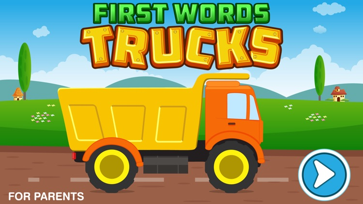 First Words Trucks and Things That Go - Educational Alphabet Shape Puzzle for Toddlers and Preschool Kids Learning ABCs screenshot-4
