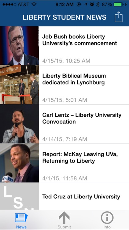Liberty Student News