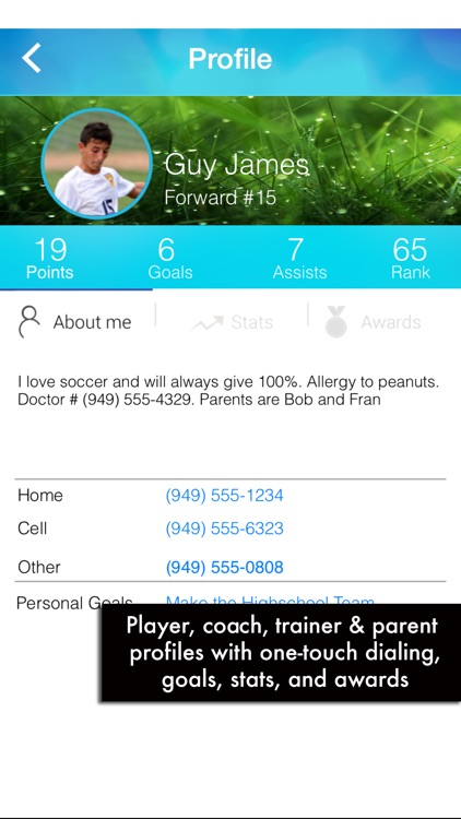 Gamer - A soccer team sports management app for the Team Mom, Admin, Coach, and Player screenshot-3