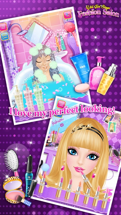 Fashion Salon™ - Girls Makeup, Dressup and Makeover Games screenshot-1