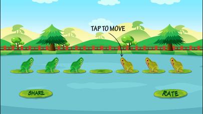 Frog Jump Puzzle screenshot three