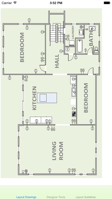 electrical layout sample drawings app price drops Electrical Layout Plan 2 Car Garage