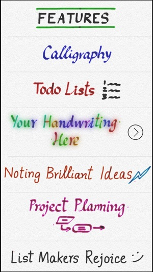 Use Your Handwriting On The App Store