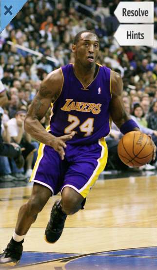 Word Pic Quiz Pro Basketball - how many of the biggest stars in league history can you name? Screenshot on iOS