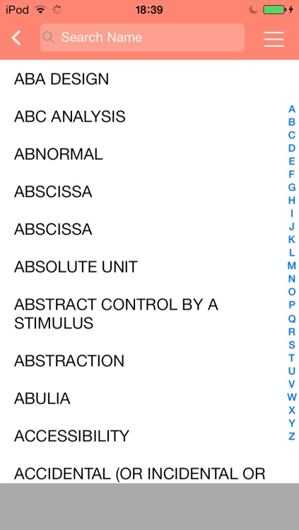 ABA Glossary screenshot-1