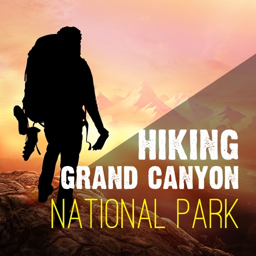 Hiking - Grand Canyon National Park icon