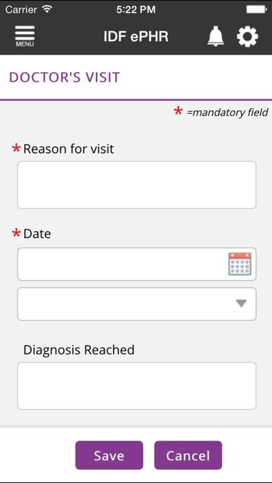 download IDF ePHR apps 2