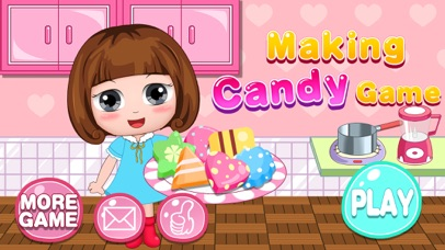 Belle's candy maker kitchen (Happy Box) kids games