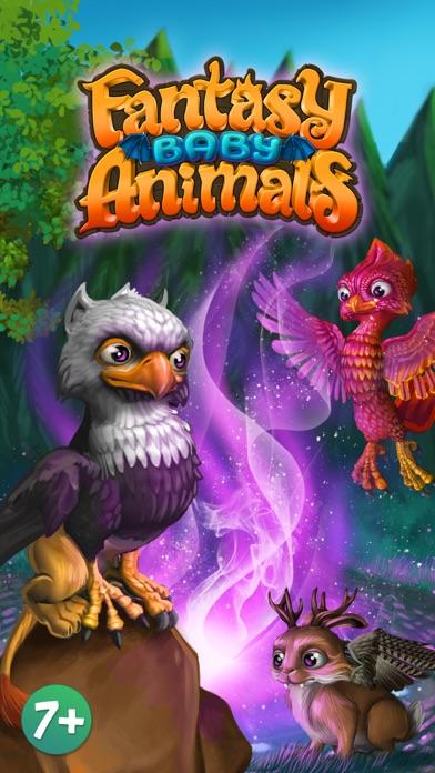 Fantasy Baby Animals - ユニコーンやドラゴンなどのかわいい動物を育てましょうのおすすめ画像1