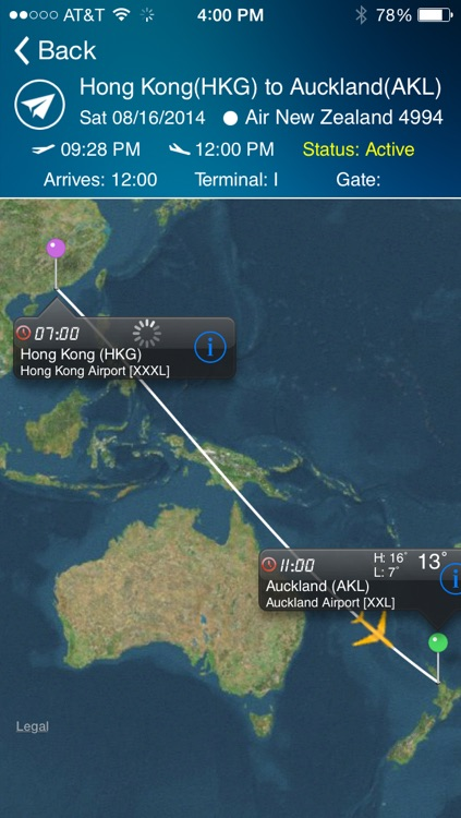Auckland Airport - Flight Tracker AKL air New Zealand