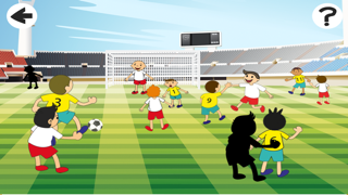 A Foot-ball Play-ers Cup With Soccer Kid-s, Ball-s and