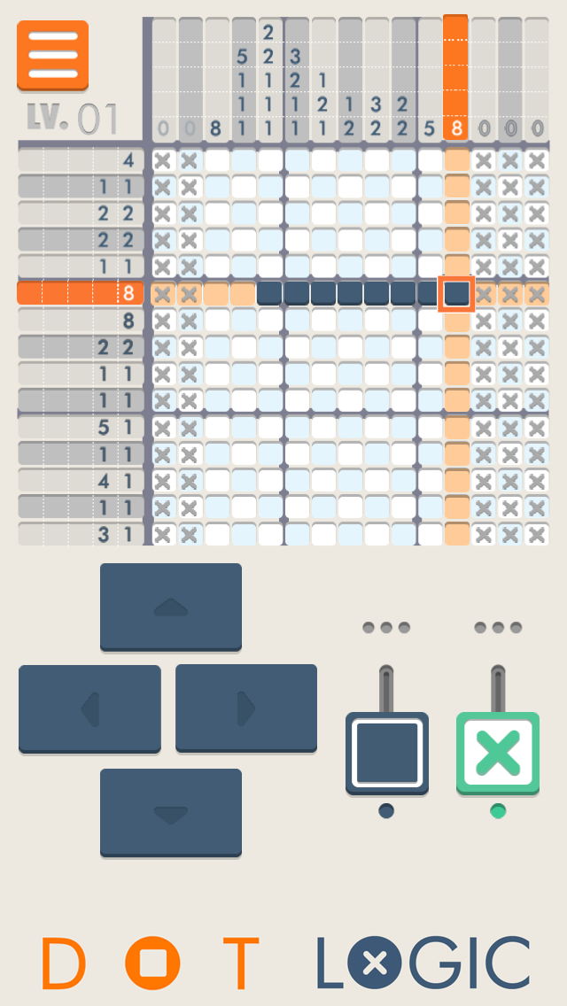 Dot Logic 無料のイラストパズル脳トレゲーム ScreenShot2