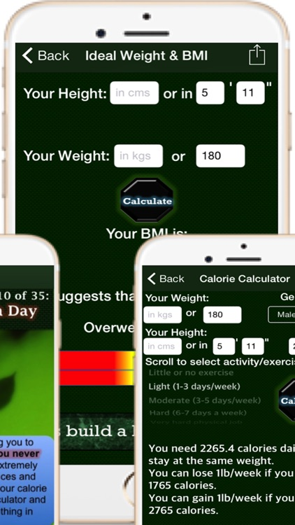 Home Remedies Pro Health Expert – Build Healthier Home using natural cures & daily life hacks and gain personal fitness using various body fat, waist hip ratio, ideal weight, BMI and calorie calculator screenshot-3