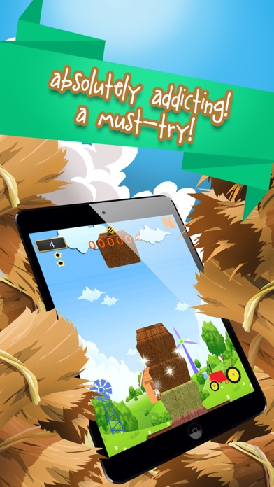 Barn Builder Story: A Hay Stacking Frenzy Screenshot on iOS