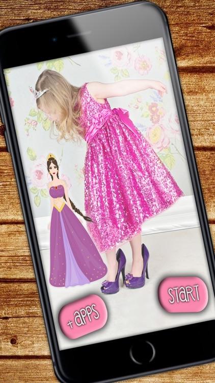 Princesses – photo stickers screenshot-3