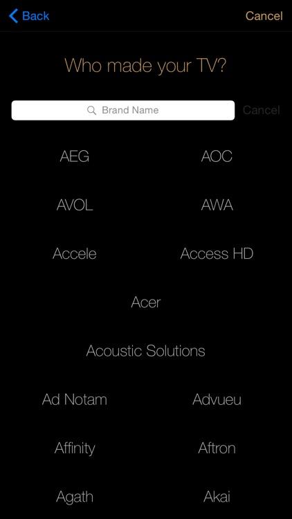 MobiLinc Remote Universal Remote Control screenshot-3