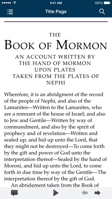 The Book of Mormon: Another Testament of Jesus Christ for Windows