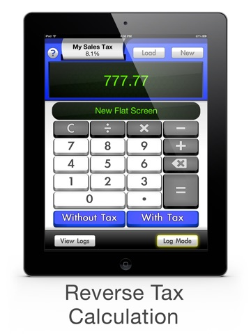 screenshot 2 for sales tax calculator with reverse tax calculation tax me pro