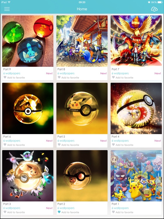 Cool Wallpapers - Pokemon version screenshot-3