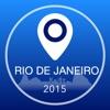 リオデジャネイロオフライン地図+シティガイドナビゲーター、アトラクションとトランスポート
