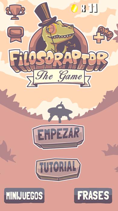 Filosoraptor the game screenshot one