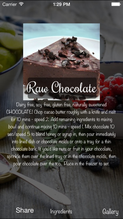 Healthy Raw Food Recipes screenshot-3