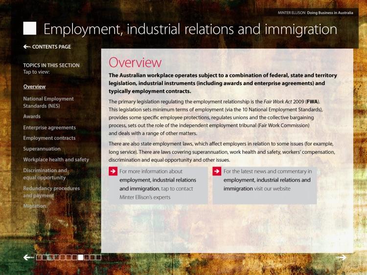 Doing Business In Australia By Minter Ellison