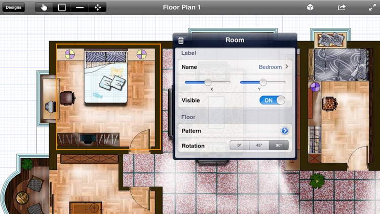 Interior Planner - Home Design & Floor Plans & Illustration Architecture screenshot-1