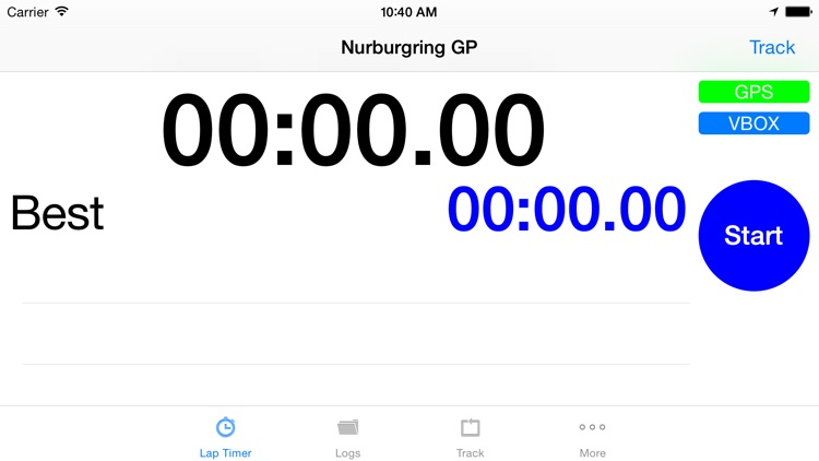iLapTimer - Motorsport GPS Lap timer & Data Logger screenshot-2