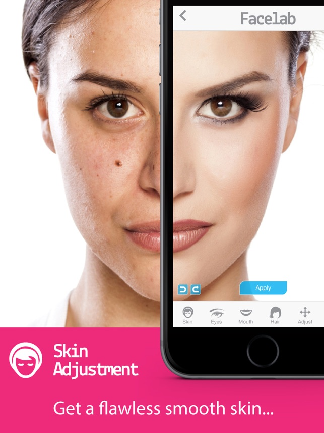 FaceLab - perfect makeover cosmetic retouch & free selfie makeup app on the  App Store