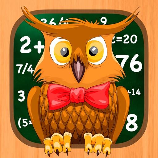 Мастер Математики - развивающая игра головоломка, образование по предмету математика