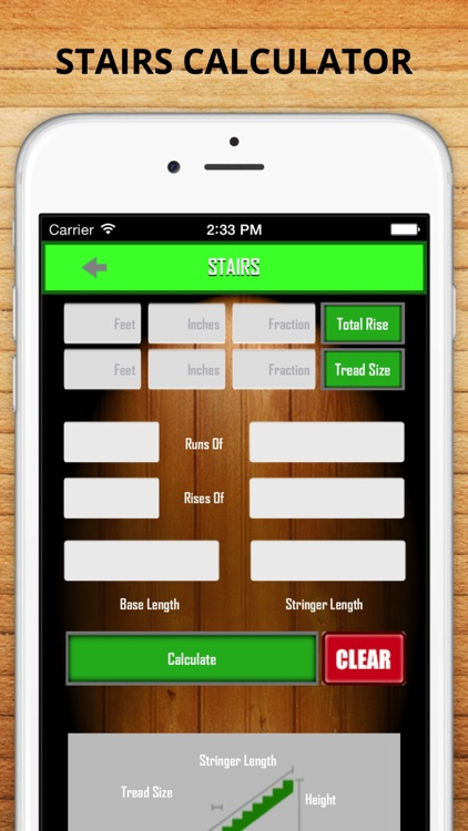 Accurate Builder Calculator - Measuring Concrete, Roofing, Joist, Stair and More screenshot-3