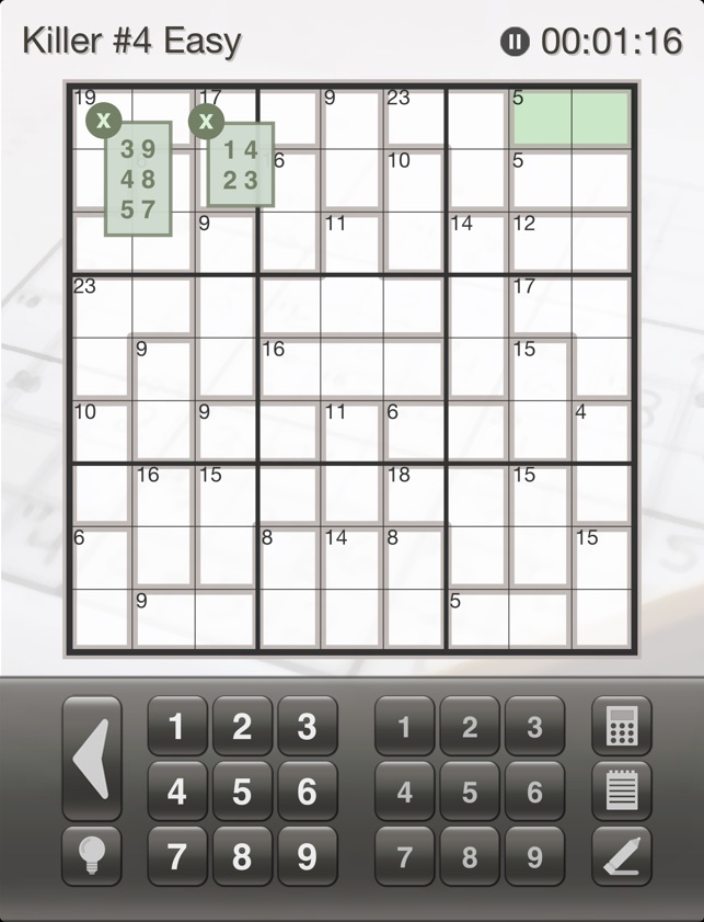 Sudoku Killer: Killer Sudoku Puzzles for Your iPhone and iPad on the