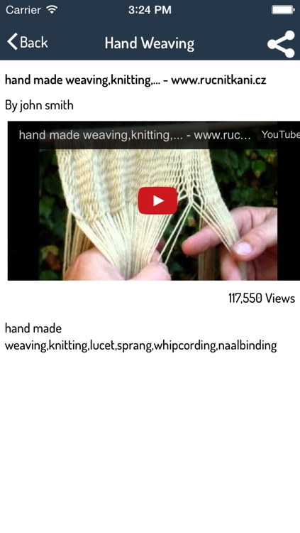 Loom Weaving Guide - Best Video Guide screenshot-3
