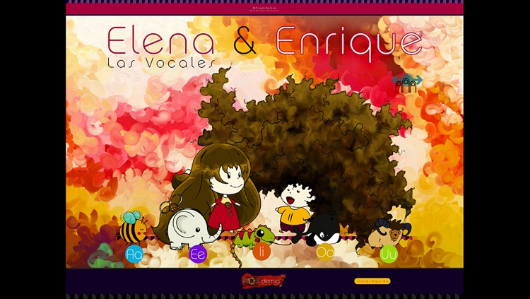 Elena y Enrique: Las Vocales screenshot-0