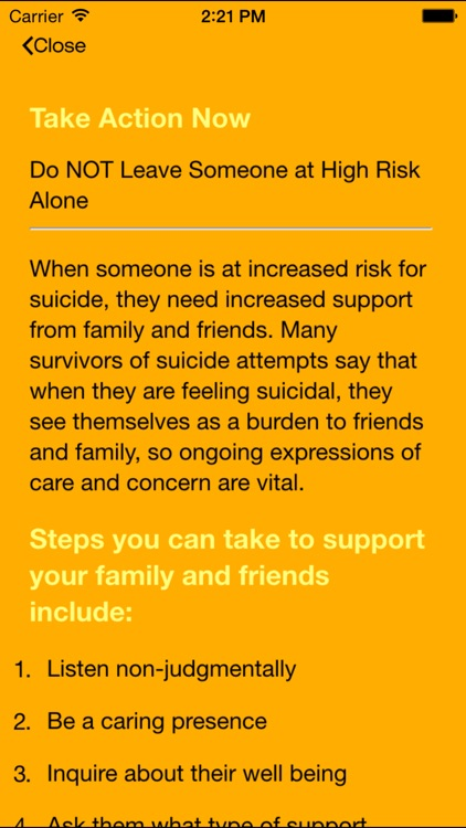Suicide Safer Home