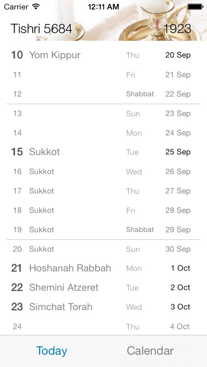 Lunary - Hebrew Calendar