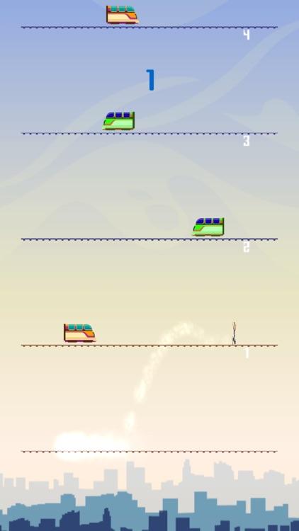 Train Jump - Sim The Trainz Car 15 Driver screenshot-3