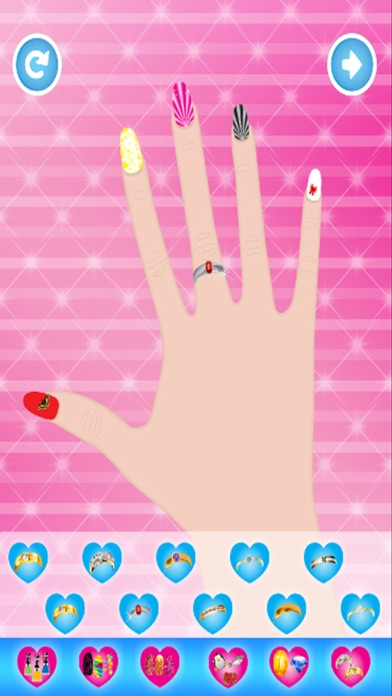 Princess Nail Salon Nail Art Design And Dress Up Game For Kids