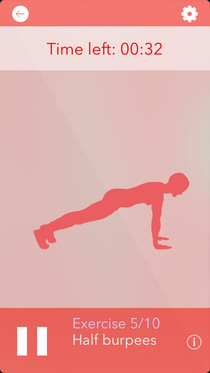 Girls' Daily Workout Challenge: fitness exercise program and workout trainer, no equipment personal mobile fitness training, just calisthenics for women screenshot-4