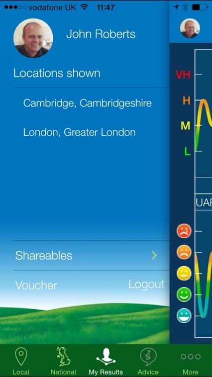Clarityn's Pollen Forecast UK screenshot-3