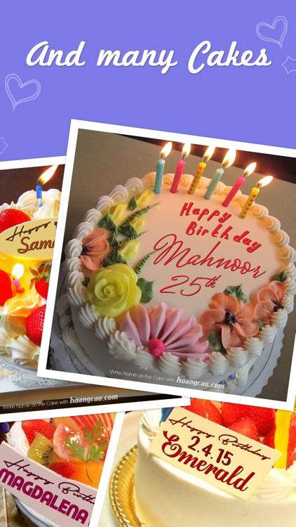 Birthday Cakes for Messenger screenshot-3