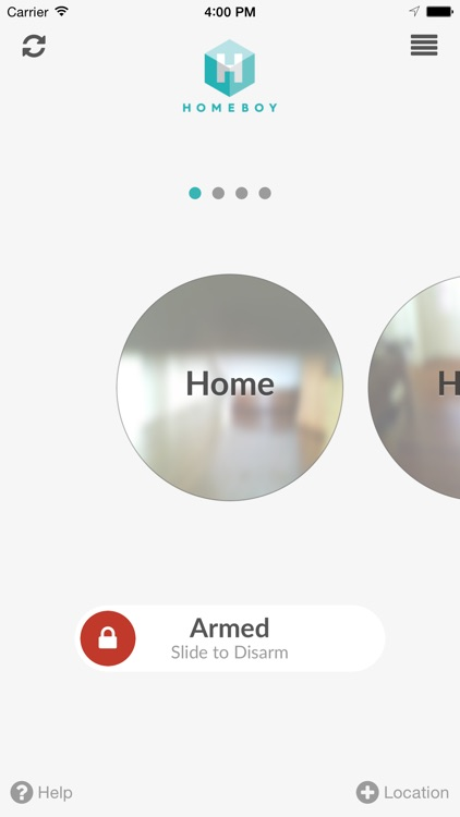 Homeboy — Home Security System