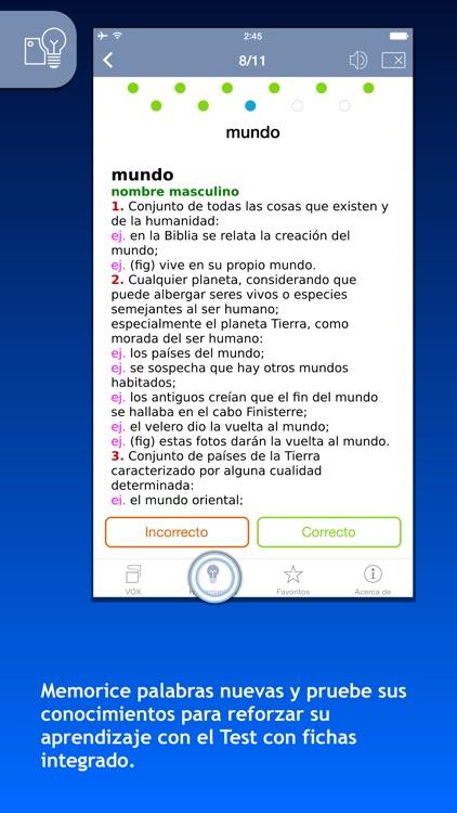 Diccionario General de la Lengua Española VOX screenshot-3