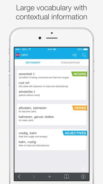 Translations: Dutch - English screenshot-3