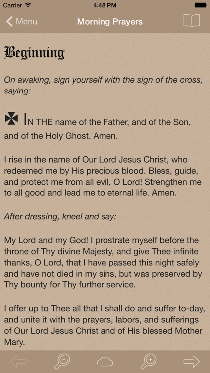 Catholic Devotions Lite screenshot-3