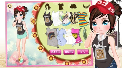 Holiday dressup game