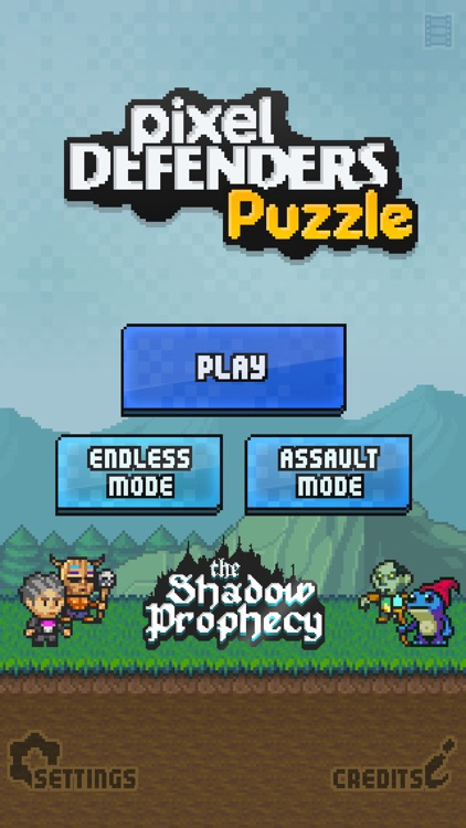 Pixel Defenders Puzzle screenshot-0