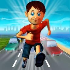 Activities of Beach Run Boy